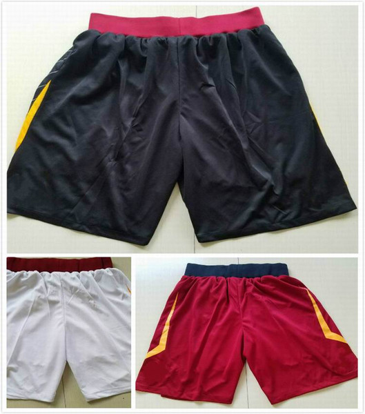 top popular wholesale sale men's sports shorts for sale free shipping red white black colors size S-XXL 2019