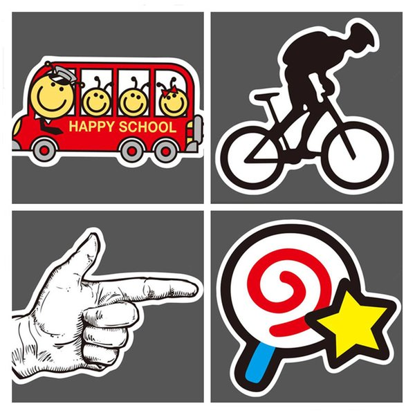 100 PCS Random DIY stickers posters wall stickers for kids rooms home decor sticker on laptop skateboard luggage wall decals car sticker