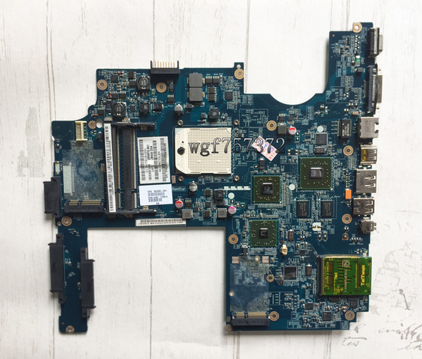 For HP DV7 DV7-1000 DV7-1100 Laptop Motherboard 503395-001 JBK00 LA-4092P AMD ATI Radeon HD socket S1 DDR2 Notebook Systemboard