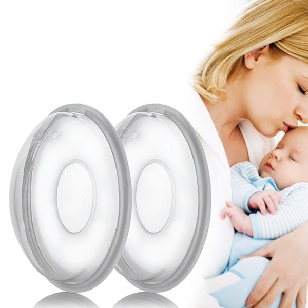 1pc Silica Gel Collection Cover Baby Feeding Breast Milk Collector Soft Postpartum Nipple Suction Container Reusable Nursing Pad