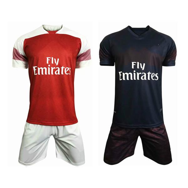 e94322d9 DHL Free Shipping 2018 19 Arsenal soccer Jersey kit Lacazette home away  Cheap jersey accept Customized