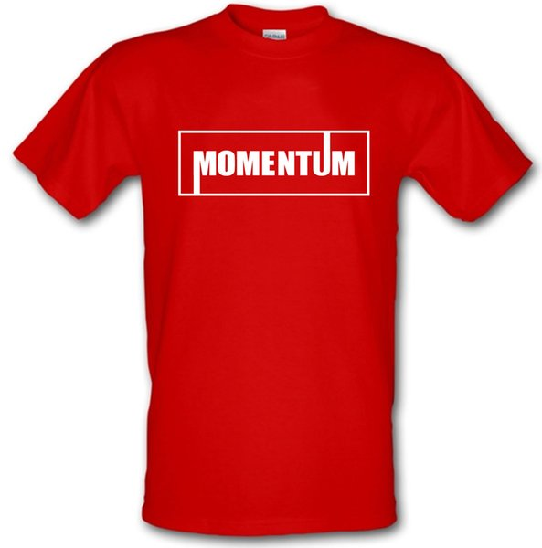 MOMENTUM JEREMY CORBYN LABOUR Election Heavy Cotton t-shirt Small -XXL Funny free shipping Unisex Casual tshirt gift