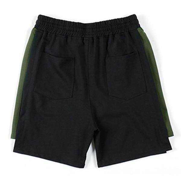 plus size L~7XL 8XL Casual Mens Shorts Summer Solid Color Breathable Shorts Men Elastic Waist Drawstring Cotton Short