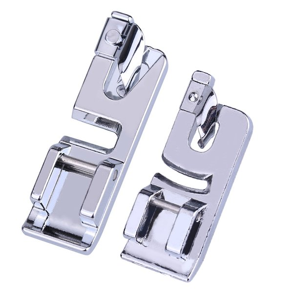 Narrow Rolled Hem Curling Sewing Machine Presser Foot For All Low Shank Snap-On Singer Brother Babylock KenmoreJuki New Home