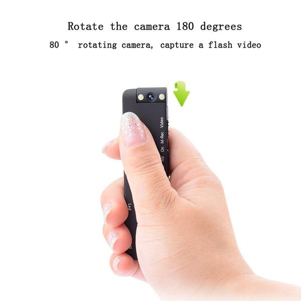Mini cámara infrarroja de la noche HD 1080P Sport Micro cámara digital Detección de movimiento Grabador de videocámara Grabador Pen Clip CAM