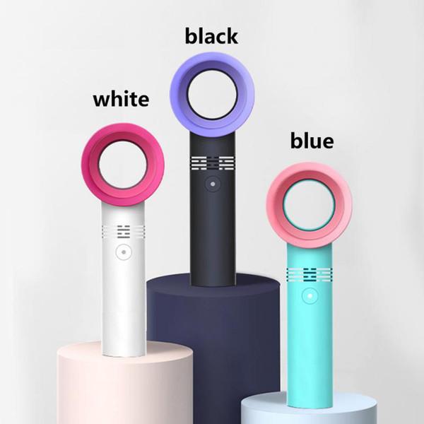 1 STÜCKE Tragbare Mini USB Blattlosen Turm Lüfter Flüsterleise Starker Wind Schreibtisch Lüfter Luftreiniger für Heimcomputer Büro
