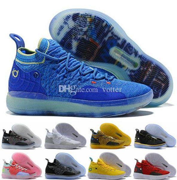 promo code a02a4 93f49 2018 KD 11 EP Elite Basketball Shoes 11s Men Multicolor Peach Jam Mens  Doernbecher Trainers Kevin