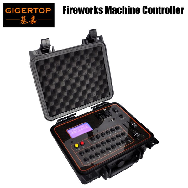 DHL Freeshipping Cold Fireworks Machine Controller Charging Battery/ 2.4G Wireless Receiver/ USB Led Lamp/US EU AU Power plug