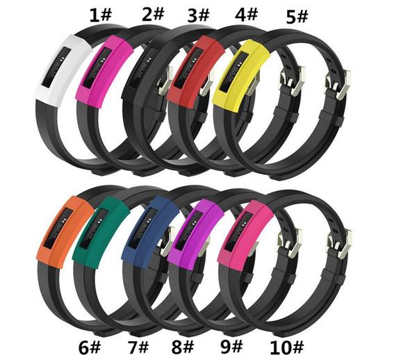 Custodia Fitbit Alta HR Custodia / cinturino / Custodia Smart Bracciale Custodia in silicone Sostituzione Copricapo colorato per Fitbit Alta HR e Alta Smart