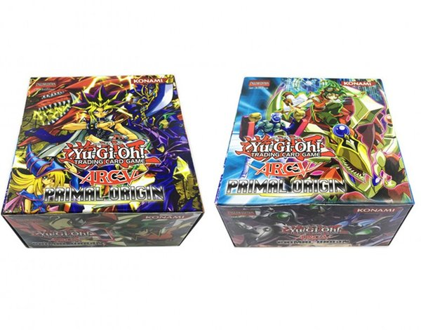 288 pcs / lot Yugioh Flash Cards Baby Cards Game Toys English Version Boys Girls Yu Gi Oh Games Collection Cards Christmas Gift