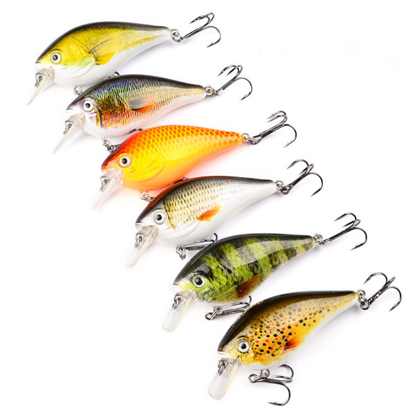 PROBEROS Crank Fishing Lures Wobbler Crankbaits For Striped Bass Fishing Tackle Hooks 3D Printing Artificial Hard Baits Pesca Y18101002