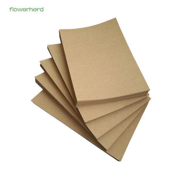 200gsm 10/20/50pcs A4 Brown Kraft Paper DIY Handmake Card Making Craft Paper High Quality Thick Paperboard Cardboard