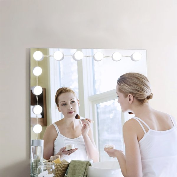 Modern dressing room mirror light cosmetic mirror lamp LED bulbs plug in lighting makeup bulbs set with Touch Control