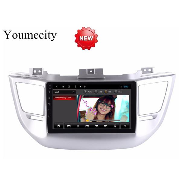 Octa Core Android 8.1 Lecteur Dvd De Voiture Gps Pour Hyundai Tucson / IX35 2016 2017 Radio Vidéo Audio Navigation Audio