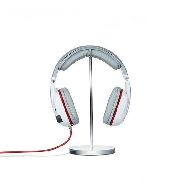 50pcs / lot soporte de acrílico de alta calidad para el auricular del soporte de exhibición soporte de auriculares