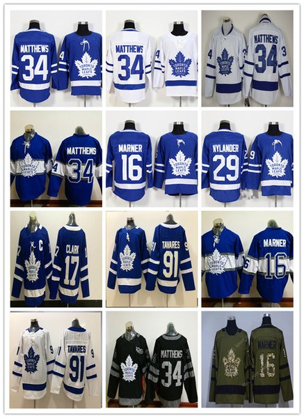 Stadium Series 2018 Toronto Maple Leafs Jerseys Cheap Hockey 34 Matthews 91  Tavares Blue Mitchell Marner William Nylander Andersen Marleau 3c7230969