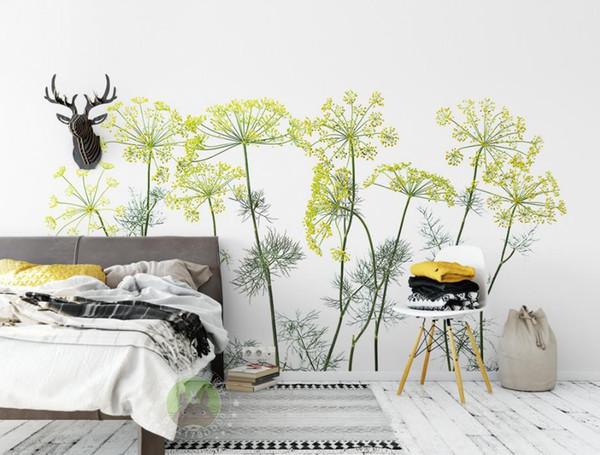 Custom 3D Printing Wallpaper The Living Room Bedroom Wallpaper Murals For Walls Simple and beautiful flowers Photo Wall Murals