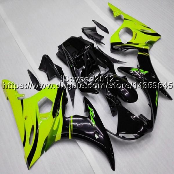 fabricante personalizar YZF R6 2003 - 2005 Motocicleta Aftermarket para YAMAHA YZF R6 2003-2005 ABS Kit completo de carenado
