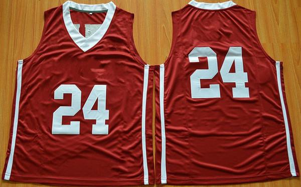 24 Buddy Heild men Jersey Cheap 2016 Newest College Basketball Jerseys Best Quality White Red Basketball Jerseys Red S-XXL College Jersey