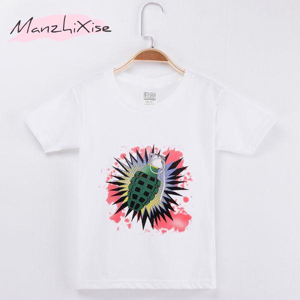 2018 Kids T-shirt Interesting Print Design Cotton Children Boy Short T Shirts Baby Clothing Girl Clothes Child Shirt Teen Tee Brand 3-12Y