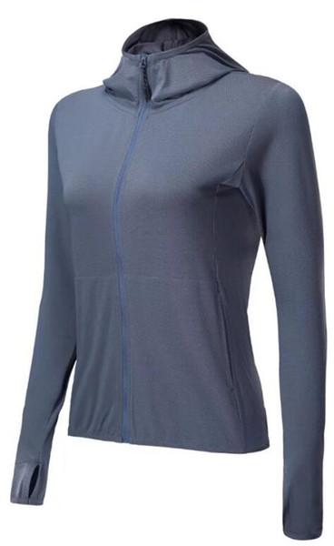 2019 Tuta manica lunga grigio Tights Sport Abbigliamento Yoga Top 3 colori migliore qualità