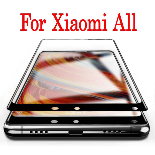 Full cover for mix 2 screen protector mix2s film For xiaomi 6 6X For xiaomi Max tempered glass protection glas protecting protect 2