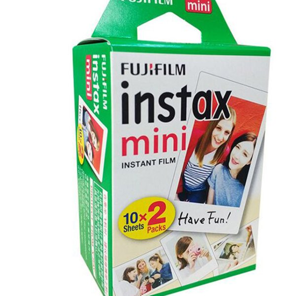 2018 New High quality Instax White Film Intax For Mini 90 8 25 7S 50s Polaroid Instant Camera DHL free