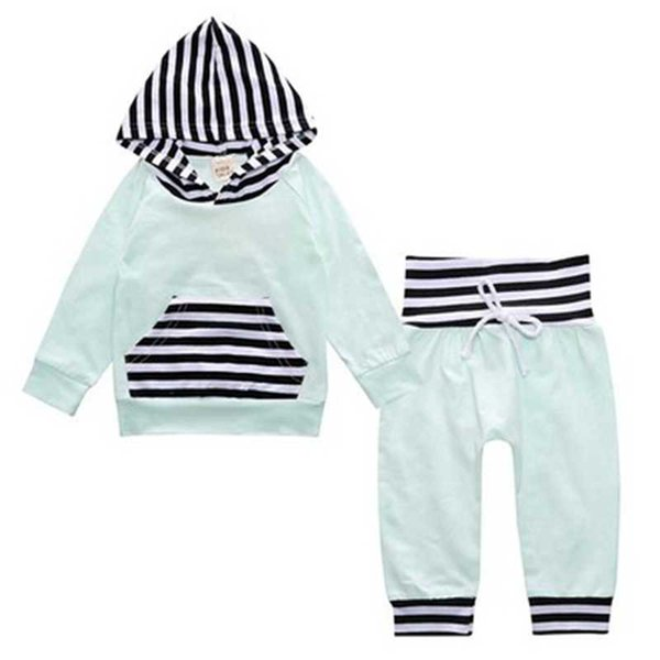 Autumn Baby Clothing Sets Baby Clothing Newborn Boy Girl Clothes With Hood Tops + Long Pants Leggings 2 pcs. outfits Set