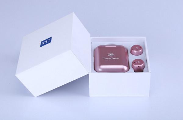 Auriculares inalámbricos Twins X3T Auriculares Bluetooth CSR4.2 Auriculares estéreo con caja de cargador magnético Estuche Venta caliente