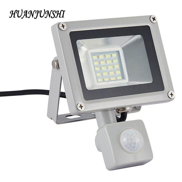 Outdoor Lighting LED Flood Light Led Spotlight Led 20W Flood Lamps Floodlight With Motion Sensor AC 220V-240V