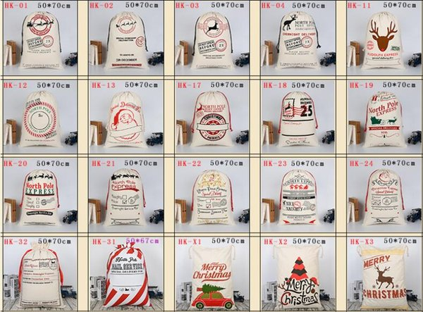 """Christmas Bag Santa Sack Canvas Bag For Gifts Santa Sack Special Delivery Extra Large Size 27.6""""x19.7"""""""