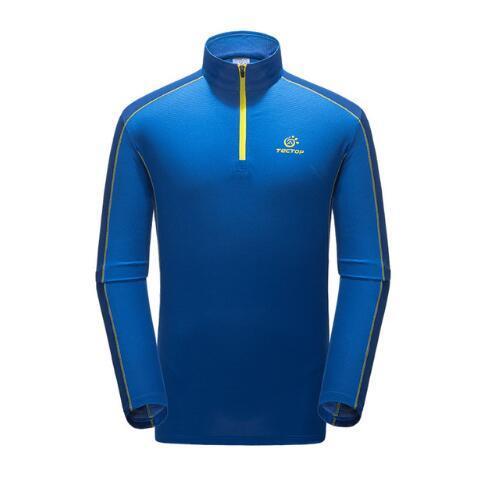 Venda quente quick dry hiking camiseta coolmax de alta qualidade ao ar livre camisa de pesca dos homens respirável suéter esporte quick dry roupas
