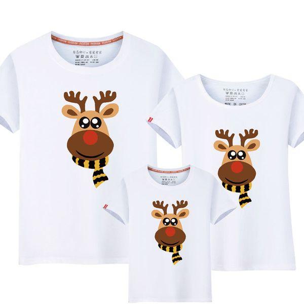 Family Christmas Pajamas 2019 Uk.Black Friday Christmas Clothes Family Matching Outfits Family Christmas Pajamas Christmas Costume Reindeer Cotton T Shirt Uk 2019 From Brodksbros Gbp