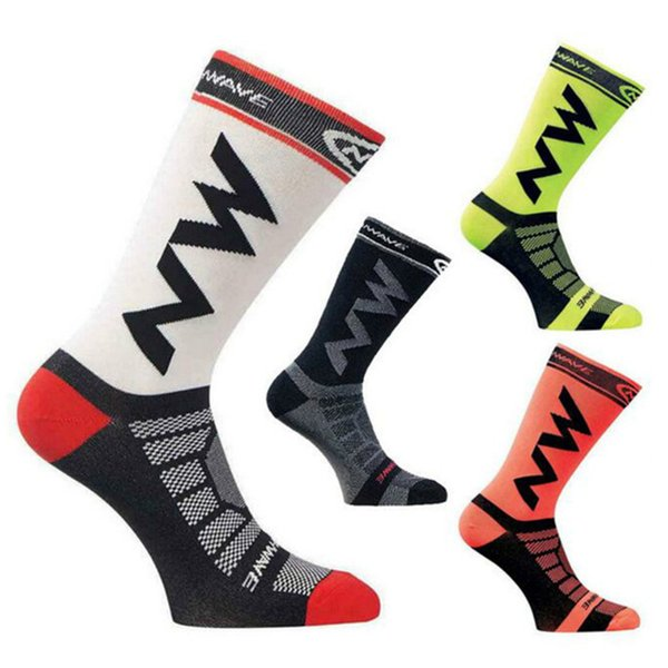 NEW Mens Womens Riding Cycling Socks Bicycle Sports Socks Breathable Socks Basketball Football Fit for 40-46