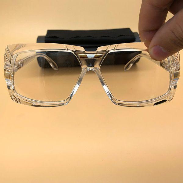 Große Legenden-Sonnenbrille-Weinlese-Eyewear-glänzender voller freier Rahmen-Objektive-Sonnenbrille übergroße Feld-Sonnenbrille Mens-Frauen-Brillen 4067