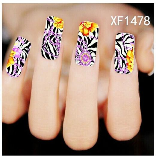 Cute Cartoon Animals And Leopard Print Nail Flower Stickers Nail Art Tip Diy Decor Manicure Design For Women Temporary Tattoos For Kids Airbrush