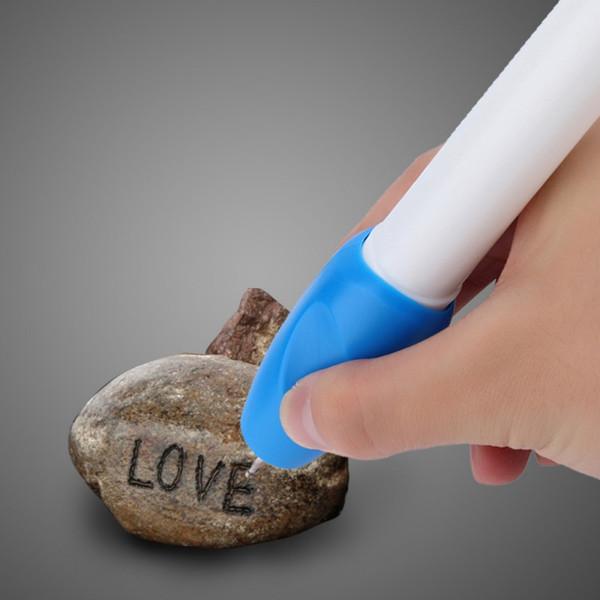 Joyas eléctricas Metal Plástico Vidrio Grabador de madera Pen Carve Tool Características: Una manera fácil de proteger su valua