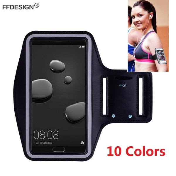 Arm Band Gym Running Sports Case Armband for Huawei Mate 20 Lite Pro 9 8 7 Mate 10 Lite Cell Phone Cover Case Bag Holder on Hand