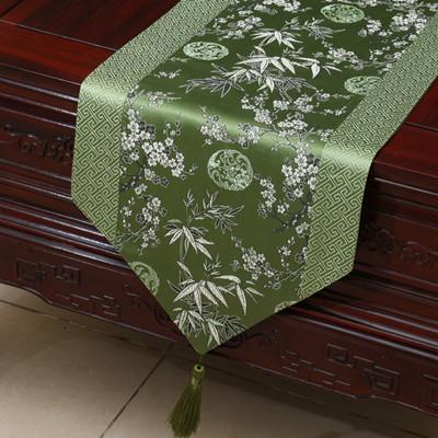 yeşil bambu flower230x33 cm