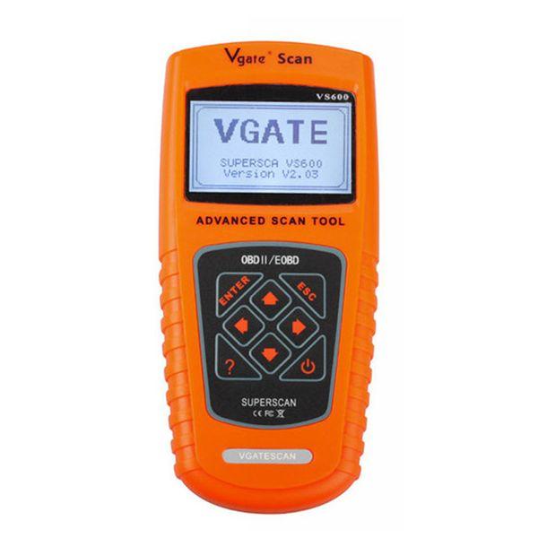 VGATE SCAN VS600 for All OBDII OBD2 Vehicles EOBD OBD CAN Code Scanner Automotive Diagnostic Tool