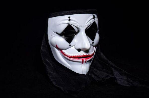 Satin Al Cadilar Bayrami Korku V Kelime Maske Palyaco Hayalet Kafa