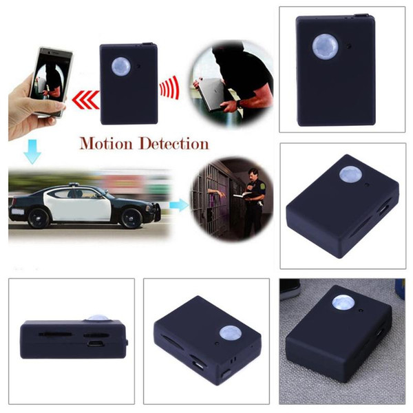 Newest Mini Wireless 1.3M Infrared Video Camera GPS GSM Security Tracker Autodial Home Office PIR SMS Alarm System
