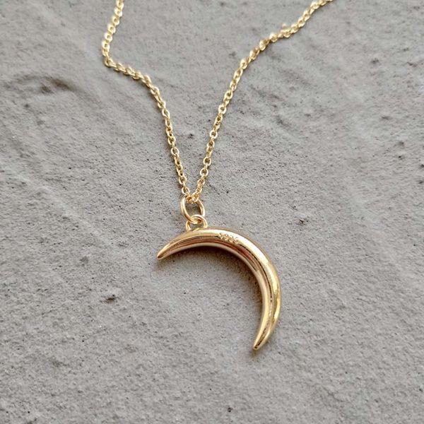 kendra scott 925 Sterling Silver Necklace Moon Design Gold Necklace Set gold chain necklace jewelry silicone bracelets Bangle bracelet