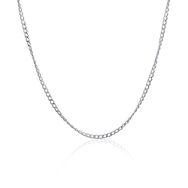 Новый стиль 925 серебряные ювелирные изделия 4 мм ширина мужская снаряженном состоянии цепи ожерелье 8 выбор высокое качество хороший подарок