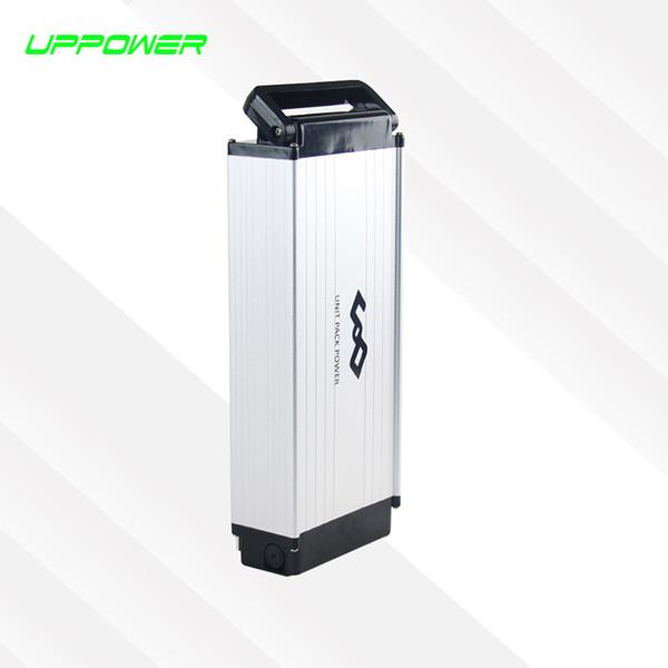 США ЕС нет налога алюминиевого сплава случае электрический велосипед задняя стойка батареи 48 в 10Ah литиевая батарея 500 Вт eBike литий-ионный аккумулятор + зарядное устройство