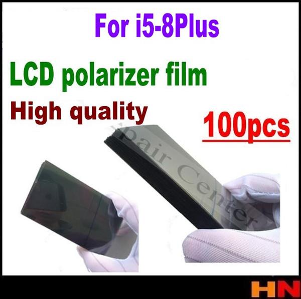 100pcs high quality for iPhone 5 5s 5c se 6 6s 7g i8 plus LCD Polarizer Polarizer Film Polarization Light Film wholesale