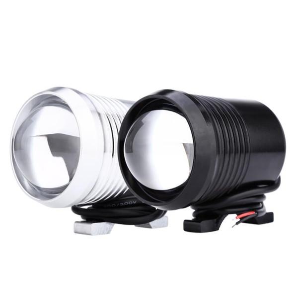 Vente chaude U2 1200LM 30 W Haute Haute Faible Faisceau Moto Phare LED Conduite Moto Brouillard Lumière Lampe Flash Moto Ampoules Phares