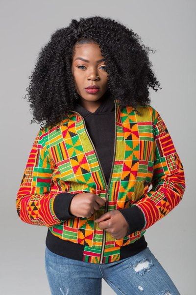 DARSJUCBD 2018 Autumn New Sexy Indie Folk Womens Jacket Coat Dashiki African Printed Zipper Bomber Jacket Coat High Quality D1891901