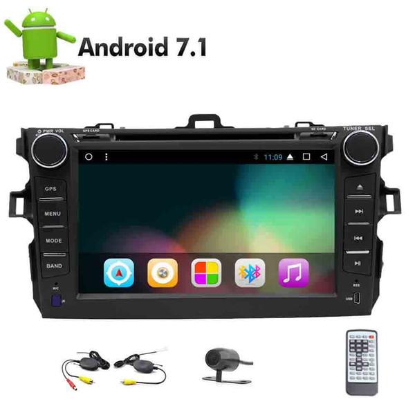 Wireless Rear Camera+EinCar Android 7.1 8 Core Autoradio In Dash Car DVD Player In Dash GPS 2Din Car Stereo Radio Bluetooth Headunit