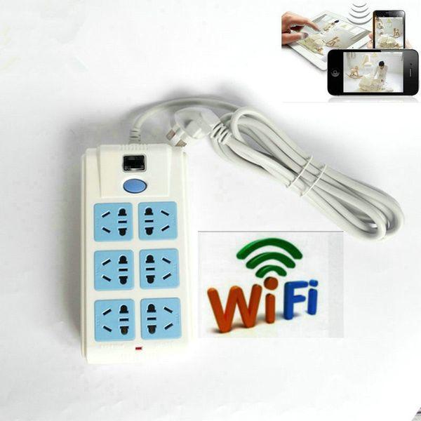 HD 1080P wifi P2P Hidden SPY mini camera power Sockets Video Recorder DVR Cam